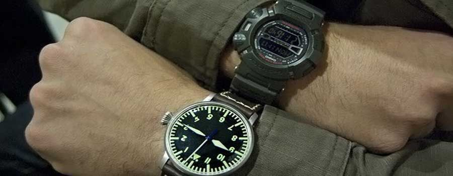 Guía de relojes mlitares