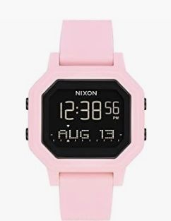 Reloj Siren rosa