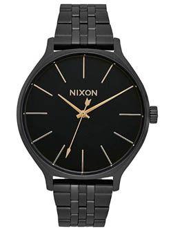 Nixon Time Arrow negro mujer