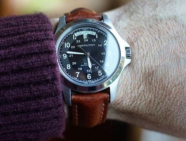 Reloj Hamilton muñeca