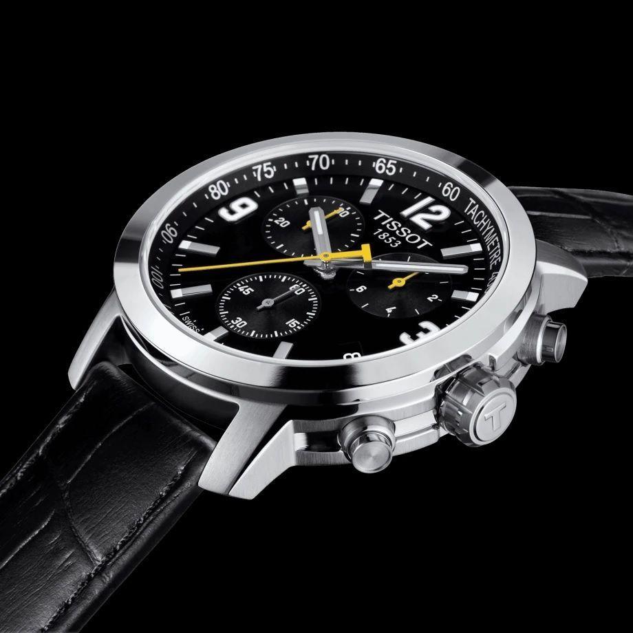 Reloj Tissot PRC 200 piel