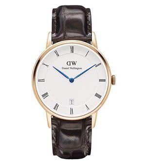 Reloj de hombre clásico piel