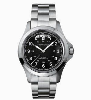 Reloj de acero Khaki H64455133