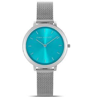 Reloj de mujer azul Aqua