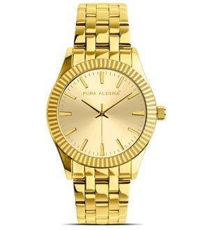 Reloj de mujer dorado Jaguar Gold