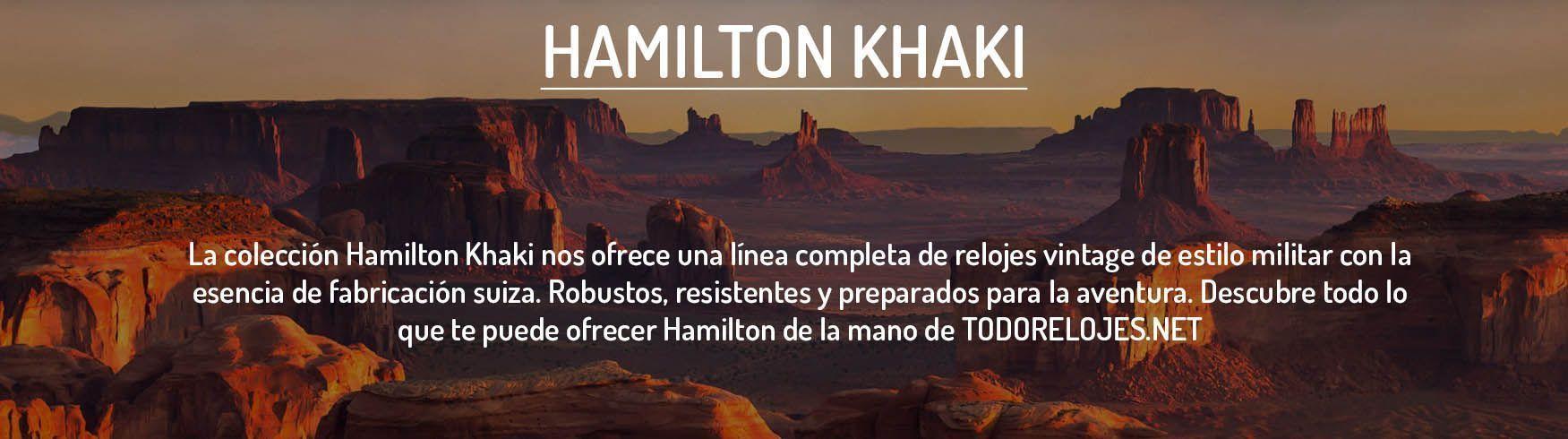 Relojes Hamilton Khaki