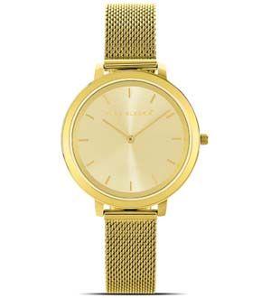Reloj dorado de mujer GLITTER