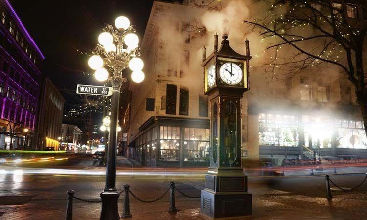 Reloj de vapor