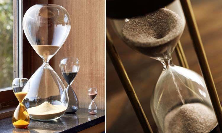 Tipos de relojes de arena