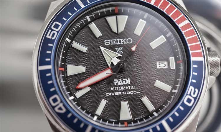 Seiko Samurai reloj de buceo