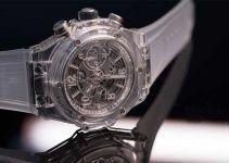 relojes con cristal mineral y zafiro