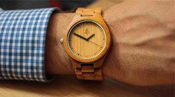 Listado relojes de madera
