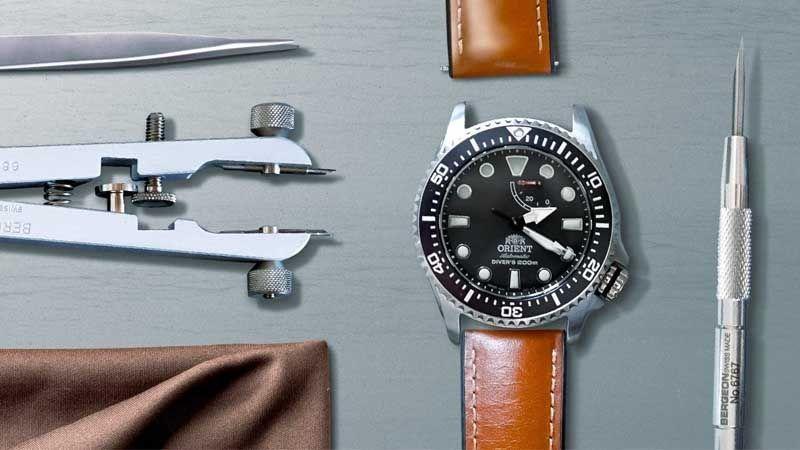 Herramientas de relojería